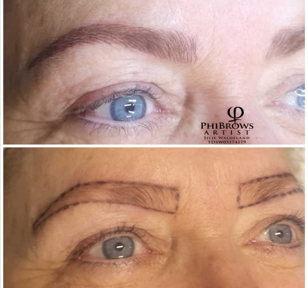 Microblading for/etter